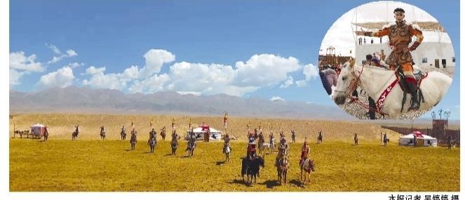 海西州文旅融合亮出新名片大型历史实景剧《一代天骄・成吉思汗》在天空壹号景区驻场演出